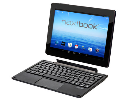 "Nextbook Ares 11 - the first Intel powered Nextbook Android 5.0 tablet with an 11.6"" screen and magnetic detachable keyboard."