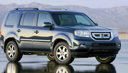 Latest Honda Pilot ready for take-off at Howdy Honda