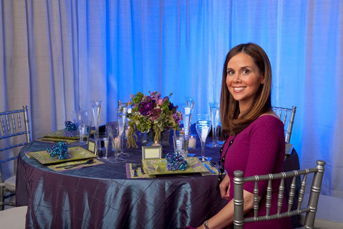 Look for Samantha's exclusive table designs at PartyCity.com.  (PRNewsFoto/Party City)