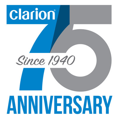 Clarion Celebrates 75 Years in the Mobile Electronics Business -- Established in December 1940, Clarion is a Global Leader in In-Vehicle Infotainment Technologies and Intelligent Safety Systems