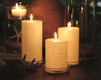 GloLite by PartyLite pillar candles (PRNewsFoto/Blyth, Inc.)