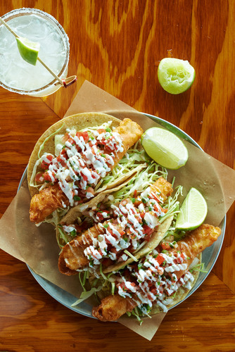 Fish Tacos.  (PRNewsFoto/Sage Restaurant Group)