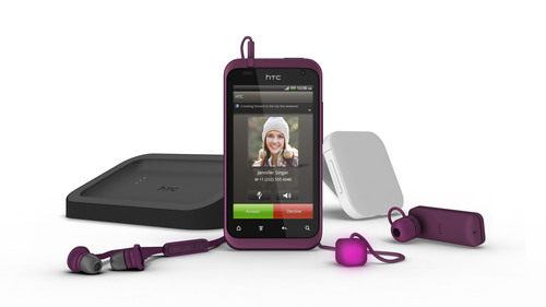 HTC UNVEILS HTC RHYME, AN ELEGANT NEW PHONE EXPERIENCE.  (PRNewsFoto/HTC Corporation)