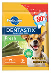 February is Oral Care Month, and taking the same care for your dog as you would your own oral health is easy, thanks to PEDIGREE(R) DENTASTIX(R) Fresh Treats for Dogs. With DENTASTIX(R) Fresh Treats for Dogs, pet owners can easily help clean their dog's teeth and keep their breath fresh, because these treats are clinically proven to reduce tartar buildup by up to 80%* when fed daily. For more information, visit www.Pedigree.com.  (PRNewsFoto/PEDIGREE Brand)