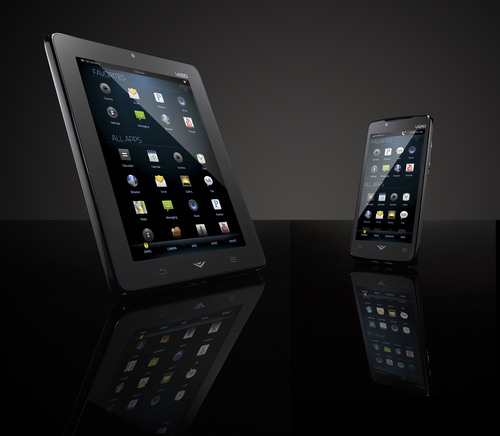 VIZIO Unveils New Smartphone and Tablet.  (PRNewsFoto/VIZIO)