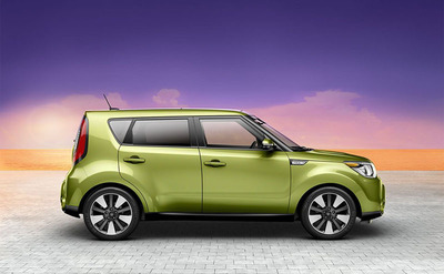 Both the exterior and interior of the 2014 Kia Soul have been completely redesigned.  (PRNewsFoto/Briggs Auto Group)