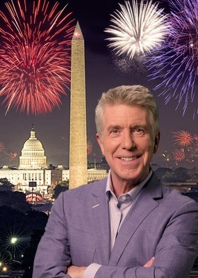 A Capitol Fourth on PBS welcomes back Emmy Award-winning television personality Tom Bergeron (Dancing with the Stars) to host the festivities from the West Lawn of the US Capitol on Monday, July 4, 2016 from 8:00 to 9:030 p.m. ET