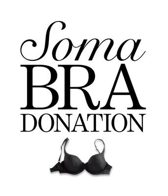 Giving is Beautiful Soma Bra Donation (PRNewsFoto/Soma)