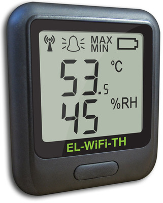 EL-WiFi-TH:  Wi-Fi-enabled temperature and humidity sensor.  (PRNewsFoto/GainSpan Corporation)
