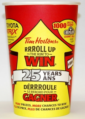 how to win tim hortons roll up the rim
