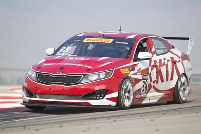 Kia Racing scores thrilling Pirelli World Challenge victory at Miller Motorsports Park