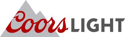 Coors Light logo.