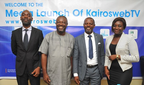 From Left: Mr. Ejiro Eghagha, Managing Partner Mercury West Africa, Mr Onoriode Akpe, Chief Executive Officer ...