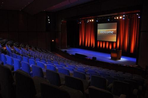 The Auditorium at the AXA Equitable Center located in midtown Manhattan. (PRNewsFoto/AXA Equitable) ...
