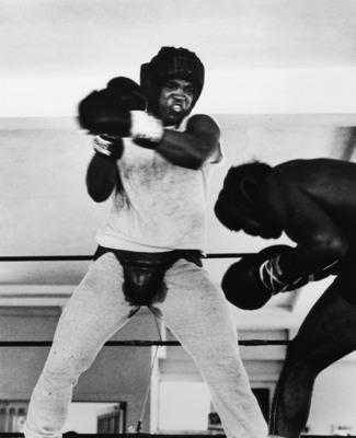 Gordon Parks, Muhammad Ali Boxing, Miami, Florida, 1966.  (PRNewsFoto/Ulrich Museum of Art)