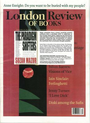 London Review of Books (PRNewsFoto/Suzan Mazur)