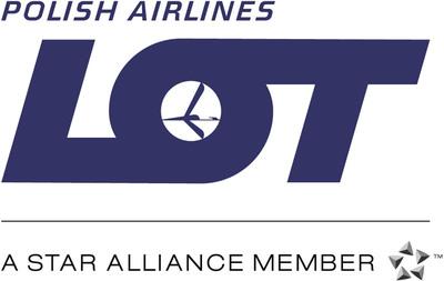 LOT Polish Airlines Logo.  (PRNewsFoto/LOT Polish Airlines)