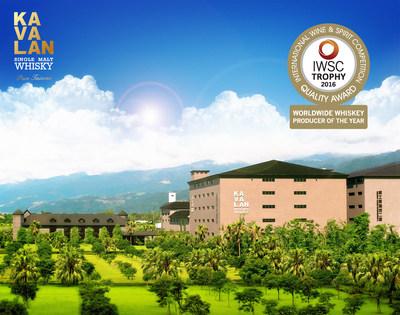 The award-winning Kavalan Distillery based in Yilan County, Taiwan