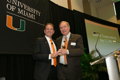 University of Miami Names Richard D. Fain Chair of the Board of Trustees