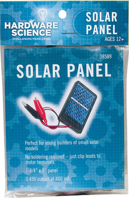 The Solar Panel kit is one of many activities included in the Hardware Science line. (PRNewsFoto/Pitsco Education)