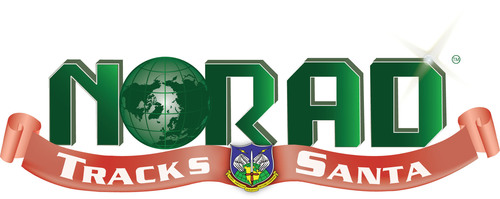 NORAD Tracks Santa Logo. (PRNewsFoto/NORAD Tracks Santa) (PRNewsFoto/NORAD TRACKS SANTA)