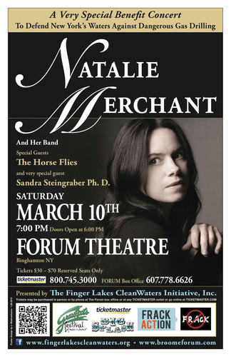 Natalie Merchant Performs at a Very Special Benefit Concert Against Hydrofracking