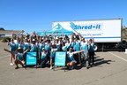 San Diego County Credit Union set a new Guinness World Record(R) for the most paper collected in a 24 hour period at its 2015 SDCCU Super Shred Event. A total of 584,350 pounds of paper was gathered and then shredded and recycled, helping to protect the community and saving approximately 5,000 trees.