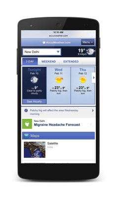 AccuWeather Internet.org App