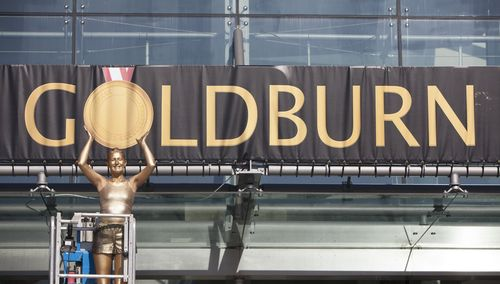 One of Scotland's top malls, Silverburn, is getting right behind Team Scotland this summer by renaming itself as Goldburn for the duration of the Commonwealth Games. (PRNewsFoto/PR NEWSWIRE EUROPE)