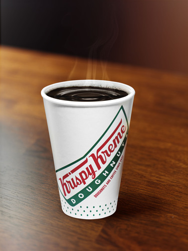 This Cup's On Us! Krispy Kreme® National Coffee Day Giveaway