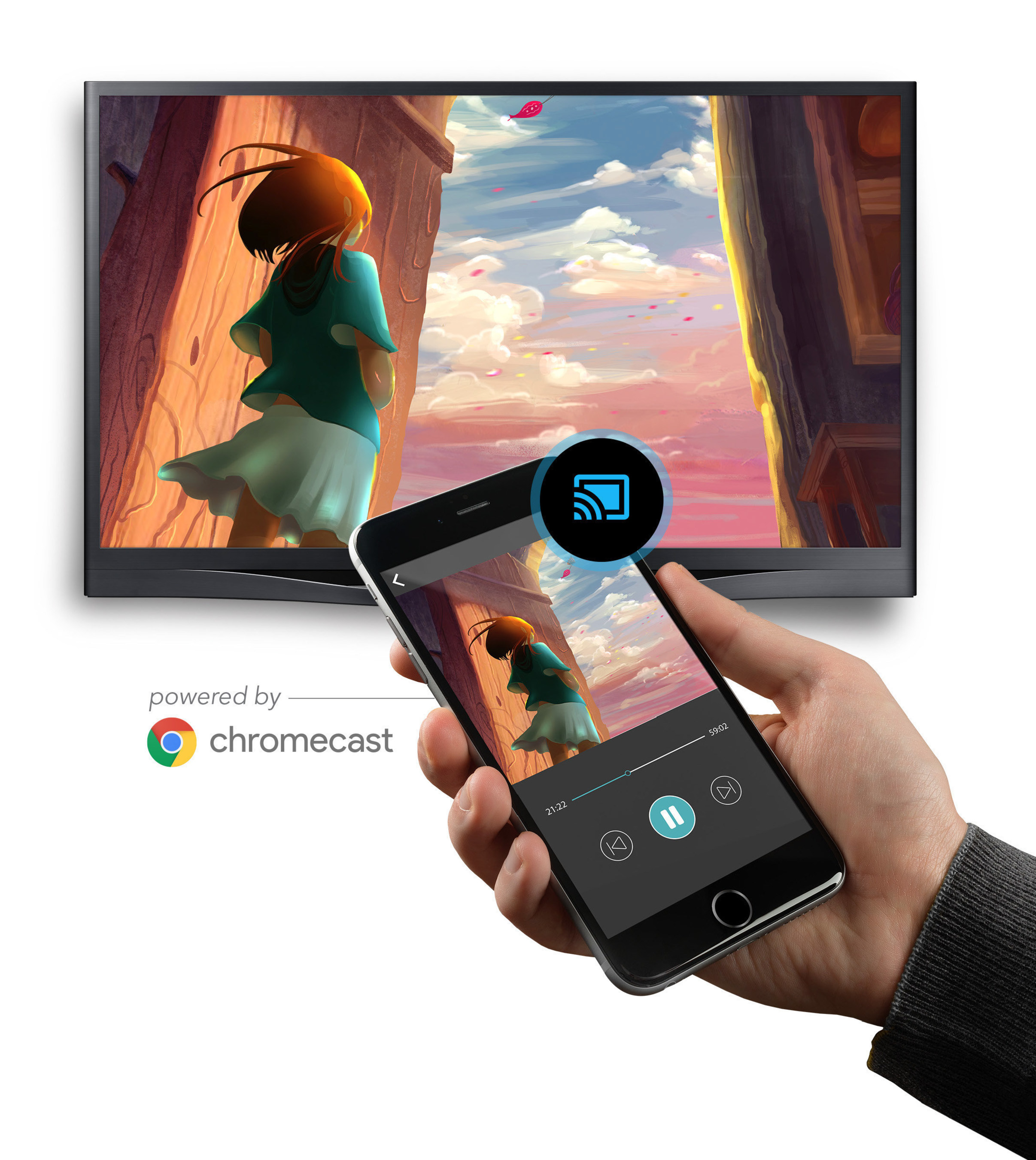 SONIFI(R) Solutions Launches SoniCast Powered By Google Chromecast