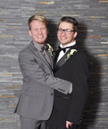 Zac Baker, left, and Sam Busch, right; Marry Me in Seattle campaign ad (PRNewsFoto/Visit Seattle)