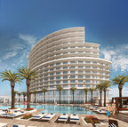 A zero-entry outdoor pool and sundeck are just a few of the many features guests will appreciate at Opal Sands Resort in Clearwater Beach, Florida. The resort is set to open in February 2016. For information, call 1-855-335-1087 or visit www.opalsandsresort.com.