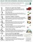 8 Tips for Avoiding Holiday Headaches from the National Headache Foundation