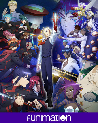 """D.Gray-man HALLOW"" key art. Courtesy of Funimation Entertainment."