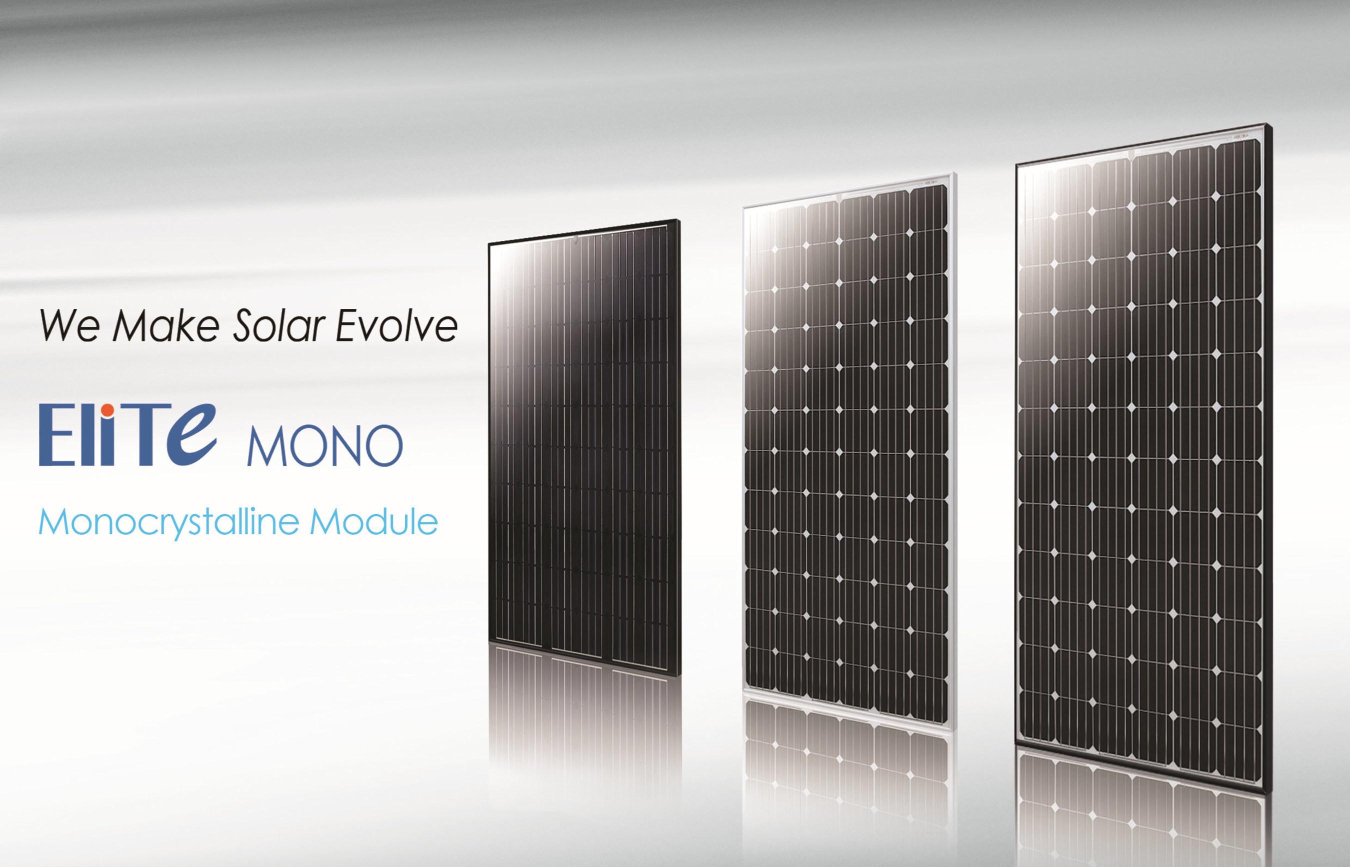 ET Solar Launches EliTe Mono Module Globally