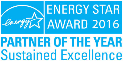 EPA RECOGNIZES USAA REAL ESTATE COMPANY WITH 2016 ENERGY STAR(R) PARTNER OF THE YEAR - SUSTAINED EXCELLENCE AWARD
