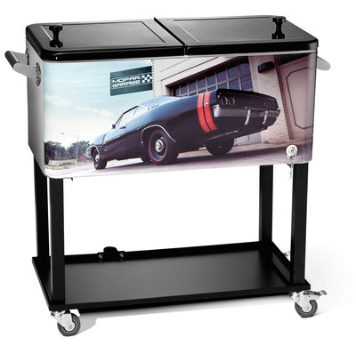 The Mopar Garage Cart Cooler is among the many gift ideas Mopar has for holiday shoppers.