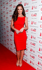 Diet Coke(R) Celebrity Ambassador Minka Kelly Supports The Heart Truth(R).  (PRNewsFoto/The Coca-Cola Company)