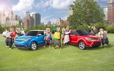 Kia Motors' Music-Loving Hamsters Are Back to Share the Unifying Power of Music in a New Ad Campaign for the Soul Urban Passenger Vehicle