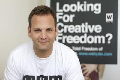 Webydo's CEO Shmulik Grizim.  (PRNewsFoto/Webydo)