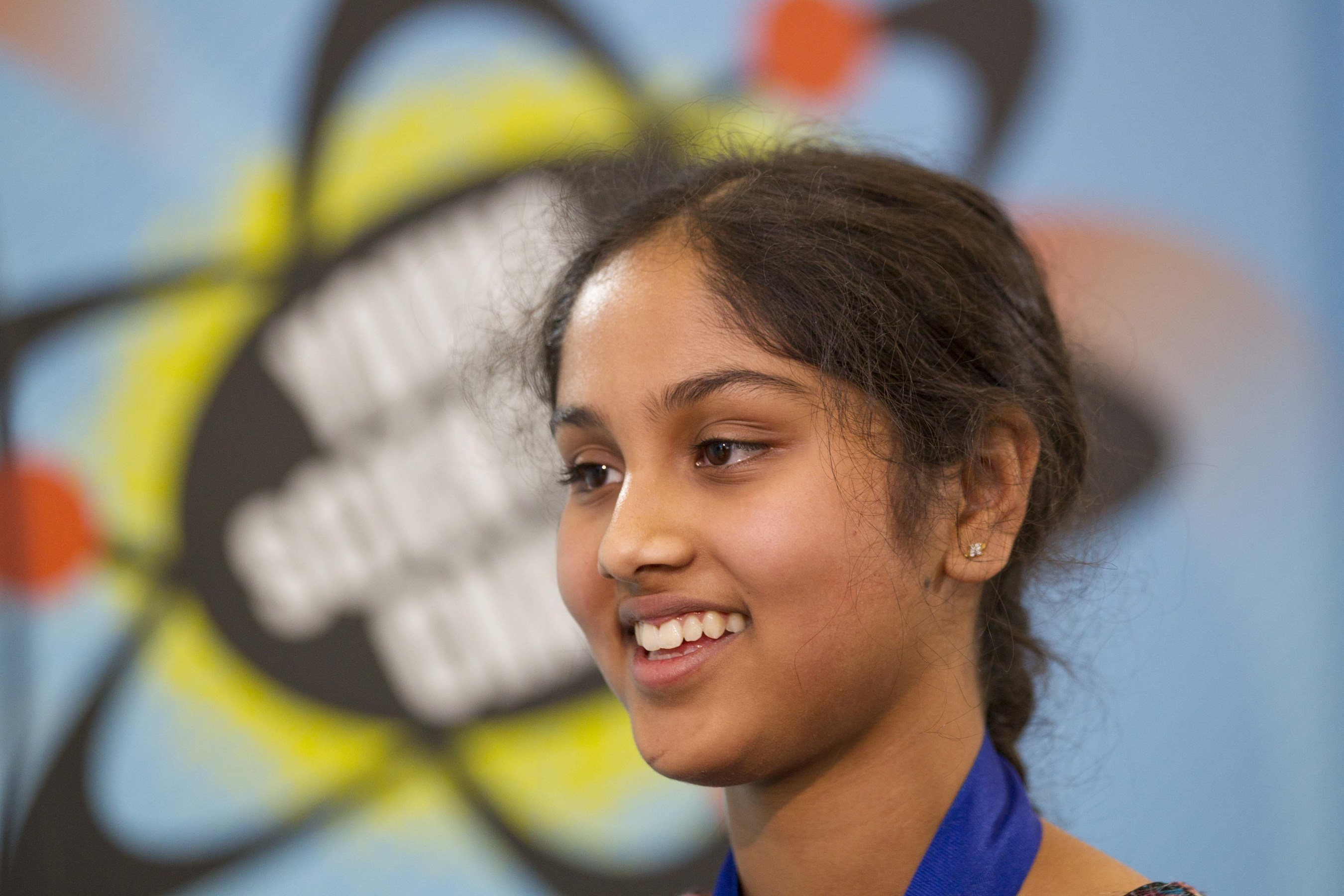 13-year-old Maanasa Mendu of Mason, OH was awarded $25,000 and named America's Top Young Scientist in the annual Discovery Education 3M Young Scientist Challenge.