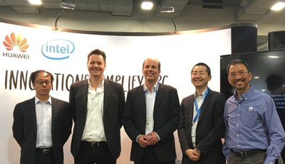 Representatives from both Huawei and ANSYS attended the white paper release ceremony at SC16