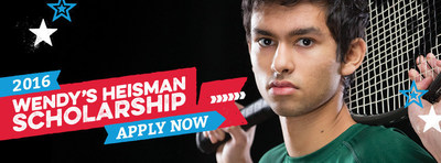 Time is running out, high school seniors have until Monday, October 3, 2016 at 3:00 pm PDT/ 6:00 pm EDT to submit the first phase of their application for Wendy's Heisman scholarship. Thousands of students will be recognized for their accomplishments and will have the chance to win scholarships ranging from $1,000 to $10,000. Visit www.WendysHighSchoolHeisman.com to learn more about the program and access the online application.