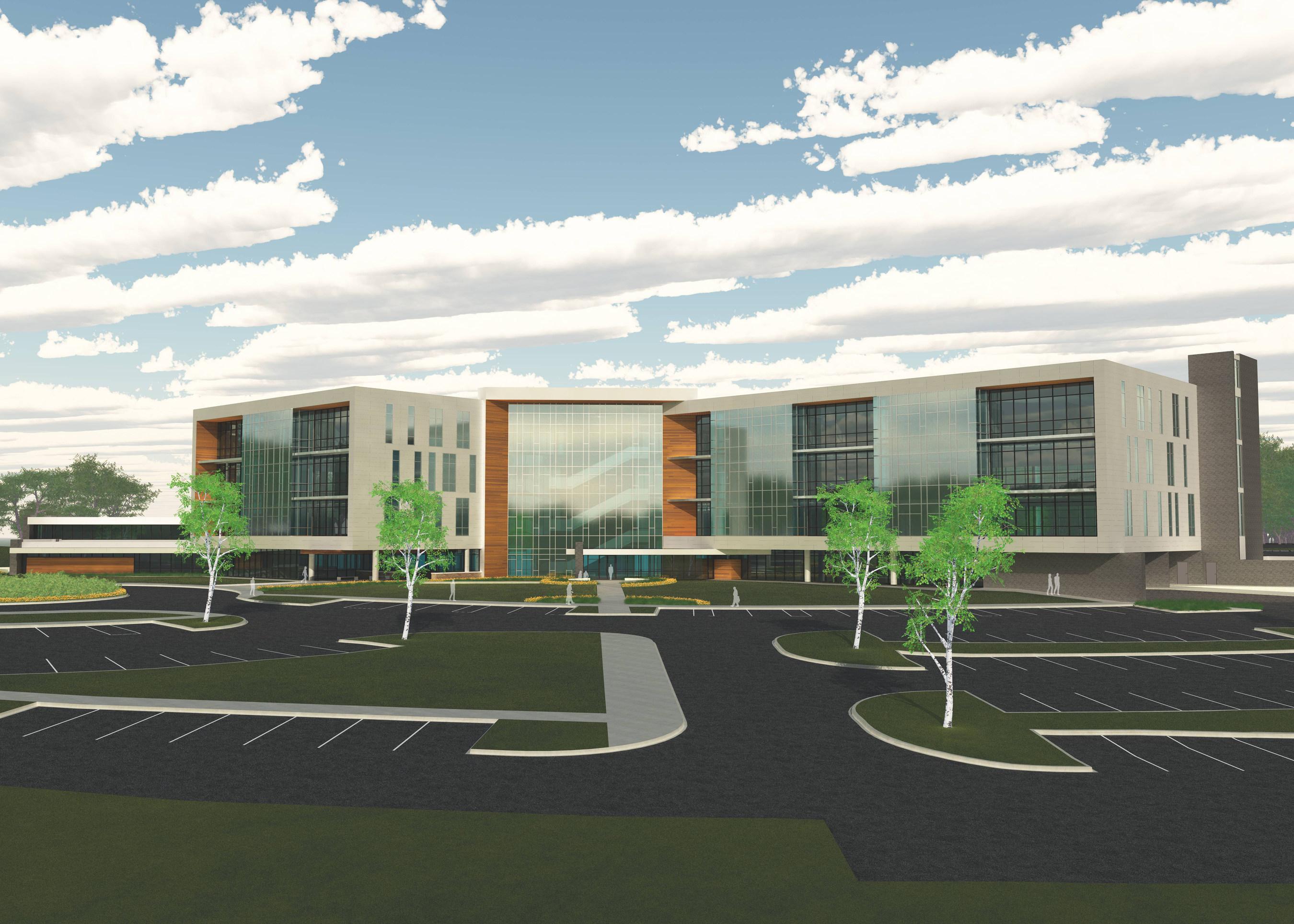 Rendering of ArcBest Corporation's Future Headquarters