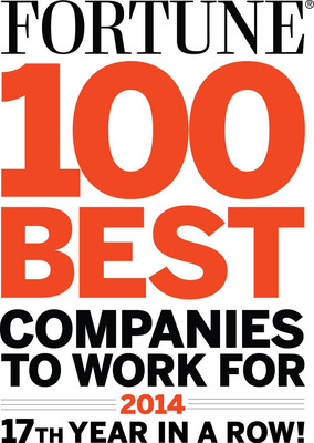 """TDIndustries Ranked #82 on FORTUNE's """"100 Best Companies to Work For."""" The company, headquartered in Dallas, Texas, has been on the list since the beginning, representing 17 consecutive years and making it an """"All Star."""" TD is one of only 13 U.S. companies to share this honor. (PRNewsFoto/TDIndustries) (PRNewsFoto/TDINDUSTRIES)"""