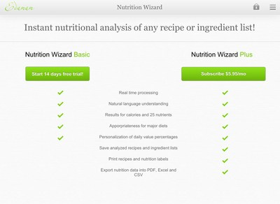 Proudly awarded the #1 Nutrition Software