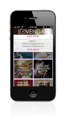 Launching Lovendar iPhone app for couples.  (PRNewsFoto/Lovendar International)