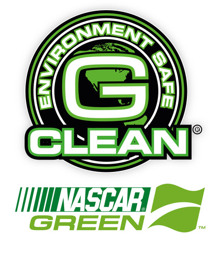 GET's G-CLEAN(R) pressure washers and environment-safe cleaning products and degreasers for concrete, home siding and outdoor mold and mildew stain removal, will offer NASCAR fans a green alternative to use on their homes and NASCAR tracks a new range of NASCAR Green products to use at their facilities.  (PRNewsFoto/Green Earth Technologies)