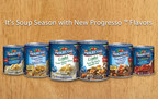Progresso(TM) Kicks Off Soup Season with Six New Flavors, continuing to bring flavorful options to the table. With six new varieties--two flavors each of Vegetable Classic, Light and Traditional Soup--the entire Progresso ready-to-eat soup line includes more than 90 flavors to meet everyone's taste preferences any time of day. (PRNewsFoto/Progresso)